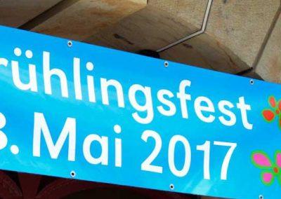 Impressionen vom Frühlingsfest am 13. Mai im Kunsthof