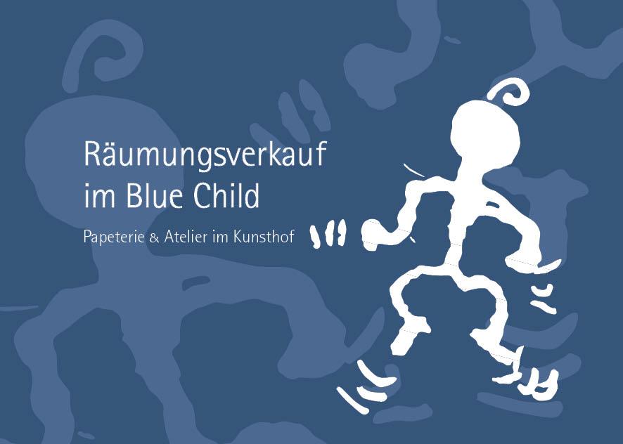 Räumungsverkauf im Blue Child – 5. Januar bis 3. Februar 50 % Rabatt auf alles!