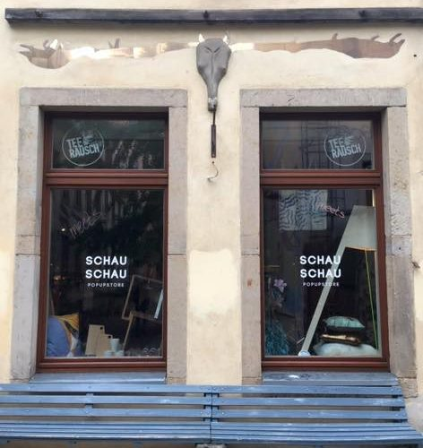 SCHAU SCHAU pop up store im Kunsthof